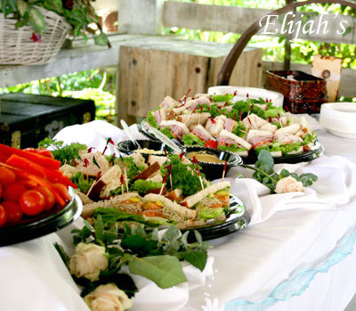 Assorted Sandwiches at the Rancho Bernardo Winery by Elijah's Catering San Diego.