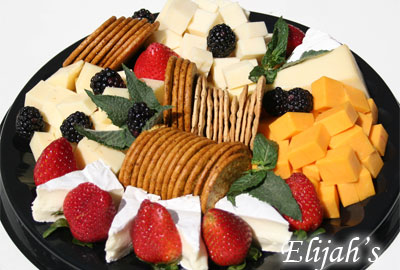 Elijah's Catering San Diego, Cheese and Craker Platter.
