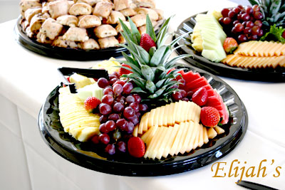 Elijah's Catering San Diego, Small Fruit Platter.